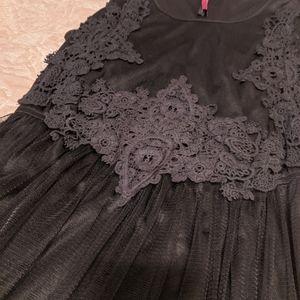 Boohoo Black Maxi Dress